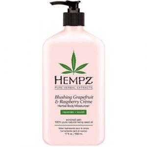 Hempz – Blushing Grapefruit & Raspberry Creme Herbal Body Moisturizer 170z