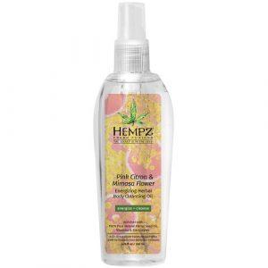 Hempz – Pink Citron & Mimosa Flower Body Oil 6.7oz
