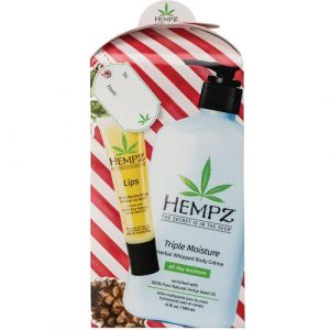 Hempz Body Moisturizer 17oz & Lip Balm Gift Set